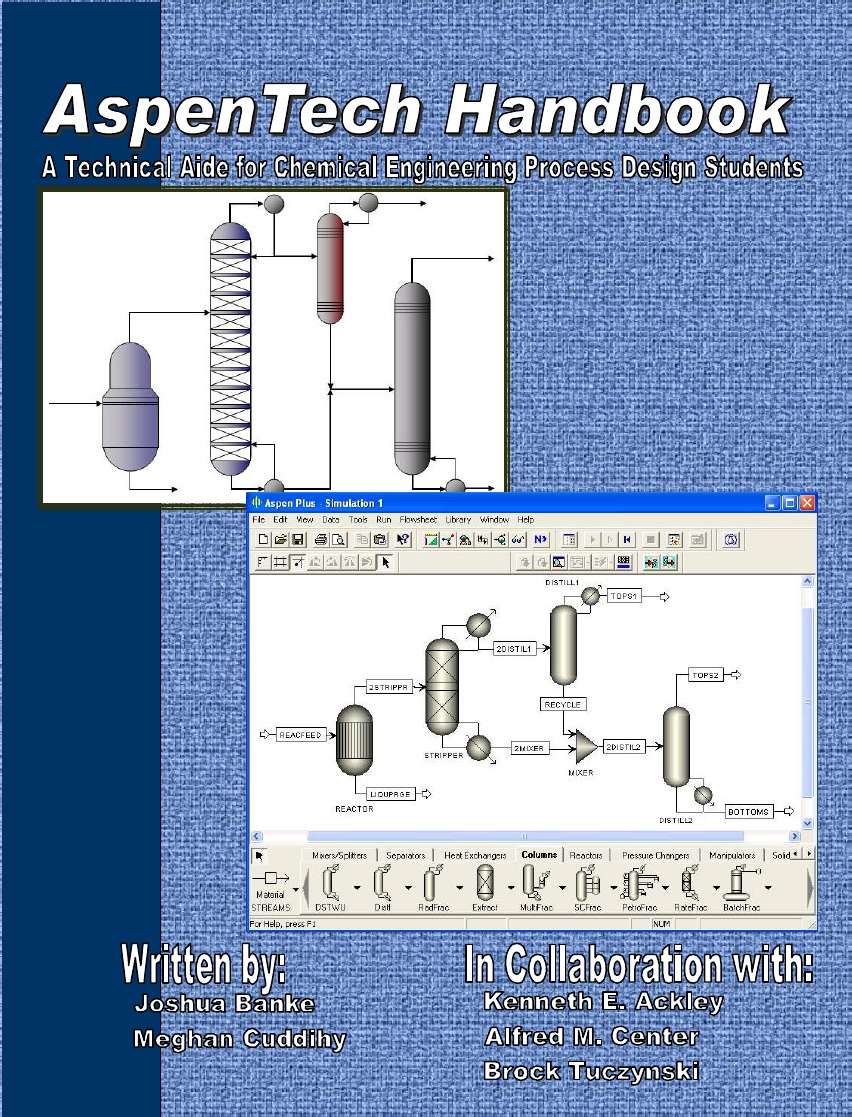 Aspentech Handbook A Technical Aid For Chemical Engineering Process Design Students