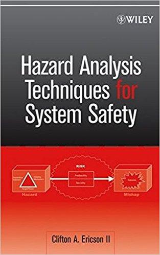 Hazard Analysis Techniques for System Safety, Ericson PDF