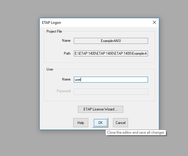 Etap Project Example